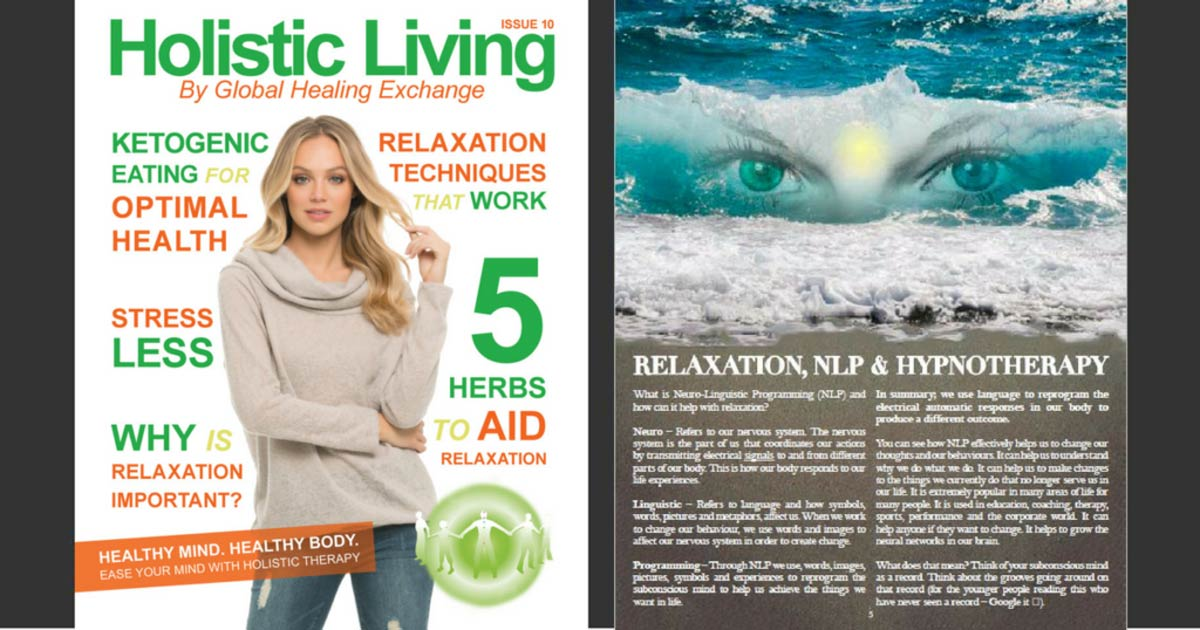 Holistic Living Magazine 10 - Relaxation