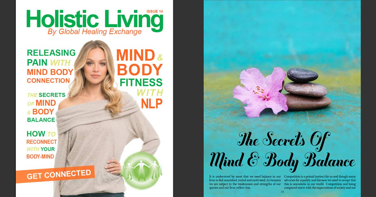Mind-Body Balance Compendium – Read Holistic Living Magazine Edition 14